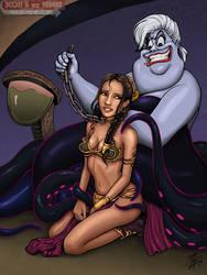 COMMISSION - Ursula And Leia