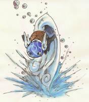 Wartortle hydrotail by Dormin-Kanna