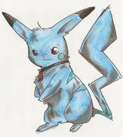 dark pikachu Werechu by Dormin-Kanna
