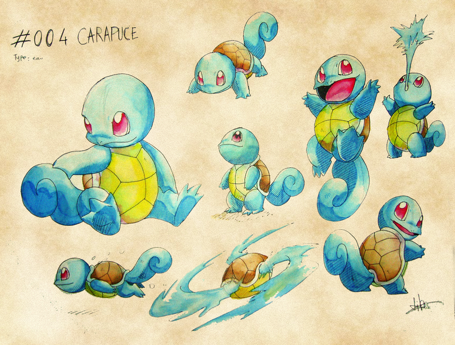 Squirtle by Dormin-Kanna