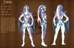 Model sheet Zora Firiel by Dormin-Kanna