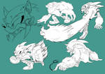 Werehog practice by Dormin-Kanna