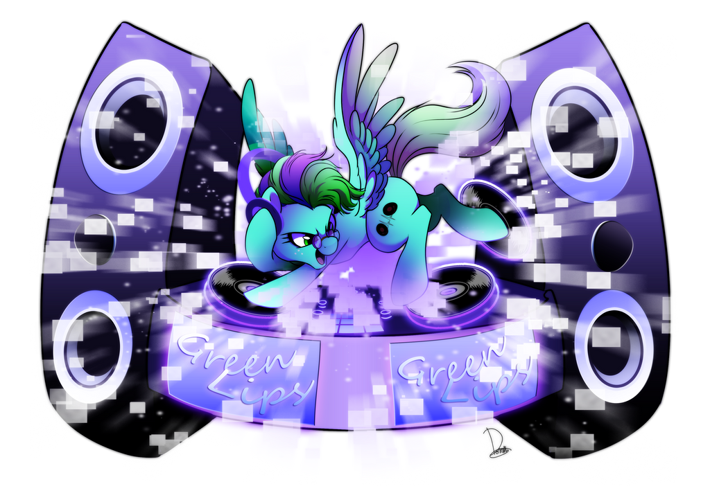 commission for greenlips dj