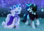 Princess Platinum and Clover the Clever