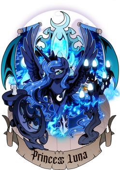 Princess Luna design 2