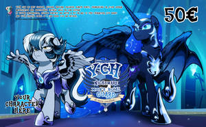 YCH Nightmare Moon's Royal guard