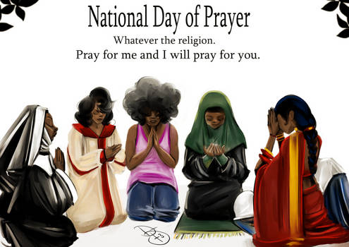 Today is the National Day of Prayer
