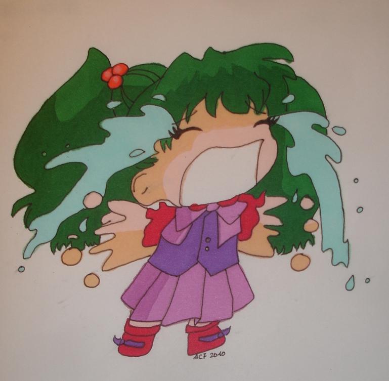 Cute Anime Chibi Girl Sad Chibi Girl Sad
