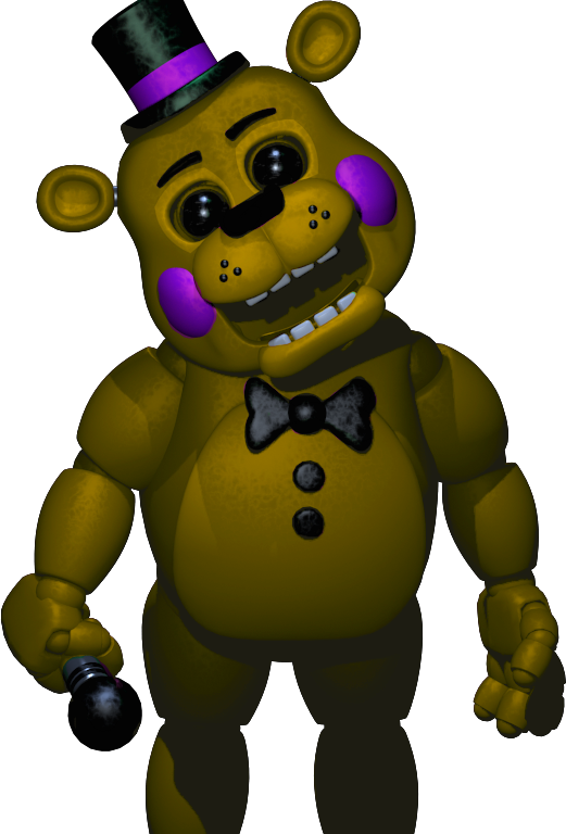 Gold Freddy Toys : Golden toy freddy updated by jackjackcooper on deviantart