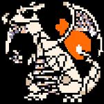 MissingNo Charizard by jackjackcooper