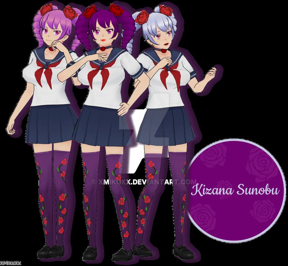 53d87f0e8d5 MMD Yandere Simulator Kizana Sonobu Download by XMikuXx on DeviantArt