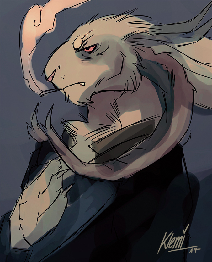 Grumpy - Sketch by CreepyRabbit