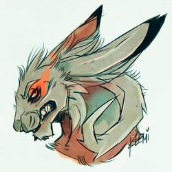 Wolpertinger by CreepyRabbit