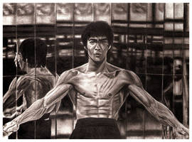 Bruce Lee by MIKELopez