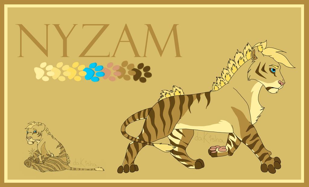 Nyzam - 2015 Ref Sheet by daKisha
