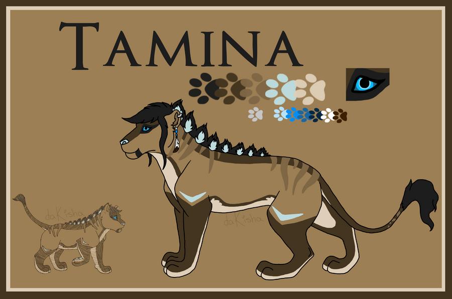 Tamina - 2015 Ref by daKisha