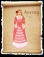 Western Disney - Aurora by daKisha