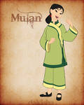 Western Disney - Mulan
