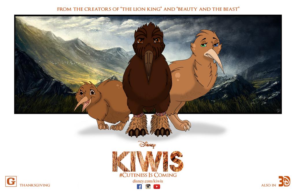 Kiwis Movie Poster Project by daKisha