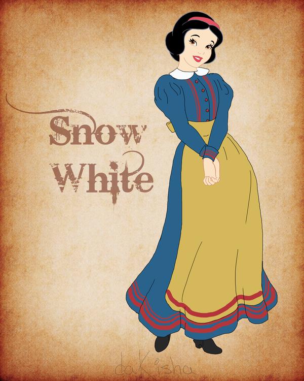 Western Disney - Snow White by daKisha