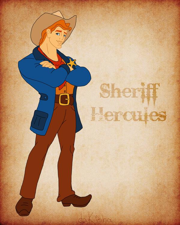 Western Disney - Hercules by daKisha