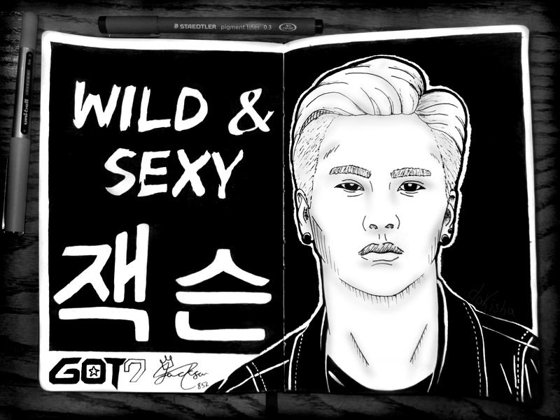 GOT7's Jackson by daKisha