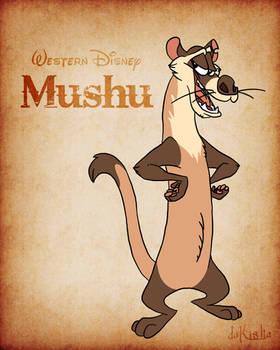 Western Disney - Mushu
