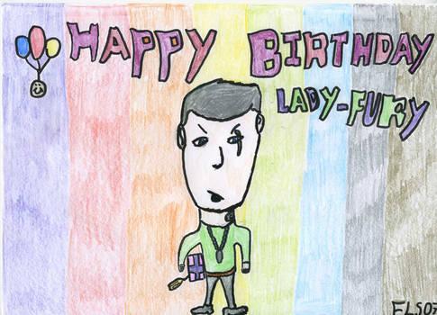 Happy B Day Lady Fury
