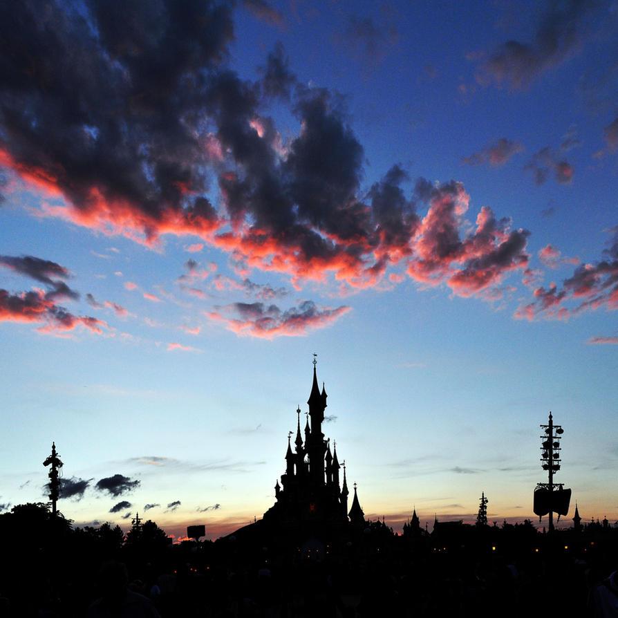 Sleeping Beauty sunset by pio1976