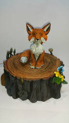 The Fox Stump by Lazerchief