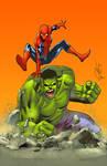 Spidey and Hulk