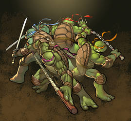 TMNT by greatlp