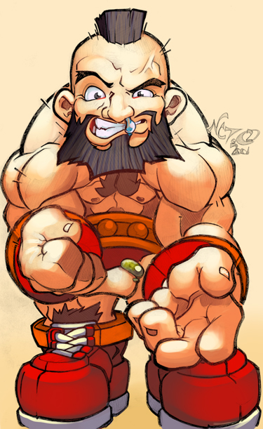 ZANGIEF BABY by deffectx