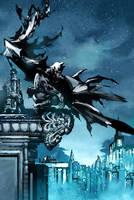 Batman dark knight version by TeoGonzalezColors