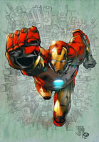Iron man by TeoGonzalezColors