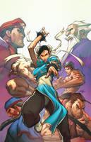 Street Fighter: ChunLi Legends by TeoGonzalezColors