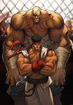 FIGHT street fighter sagat