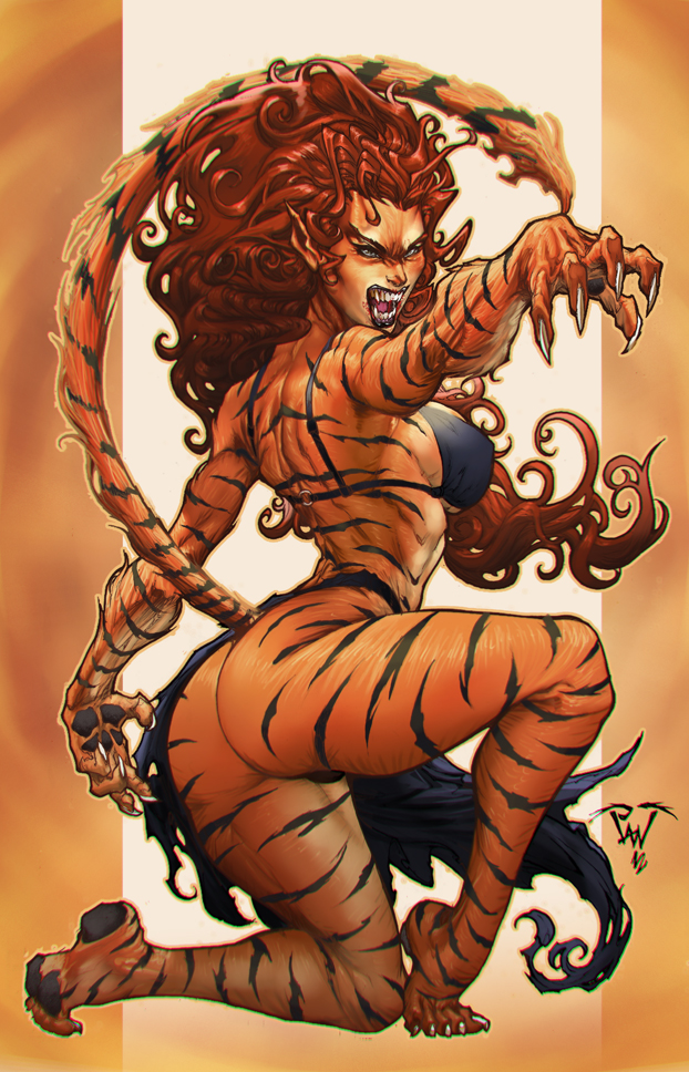 Tigra by Paolo Pantalena by deffectx