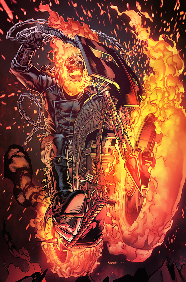 GhostRider by TeoGonzalezColors