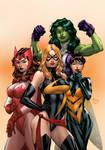 Marvel Girls