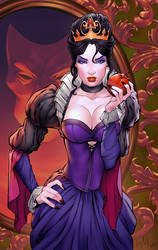 Evil Queen by TeoGonzalezColors