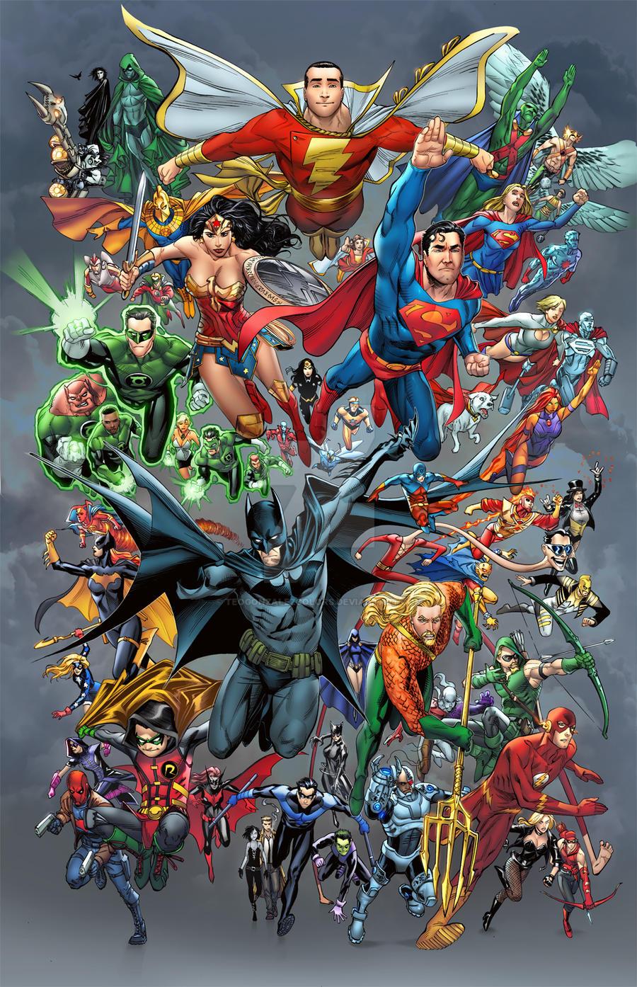 Main Dc Superheroes
