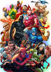 Avengers by spiderguile