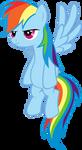 Rainbow is Unimpressed