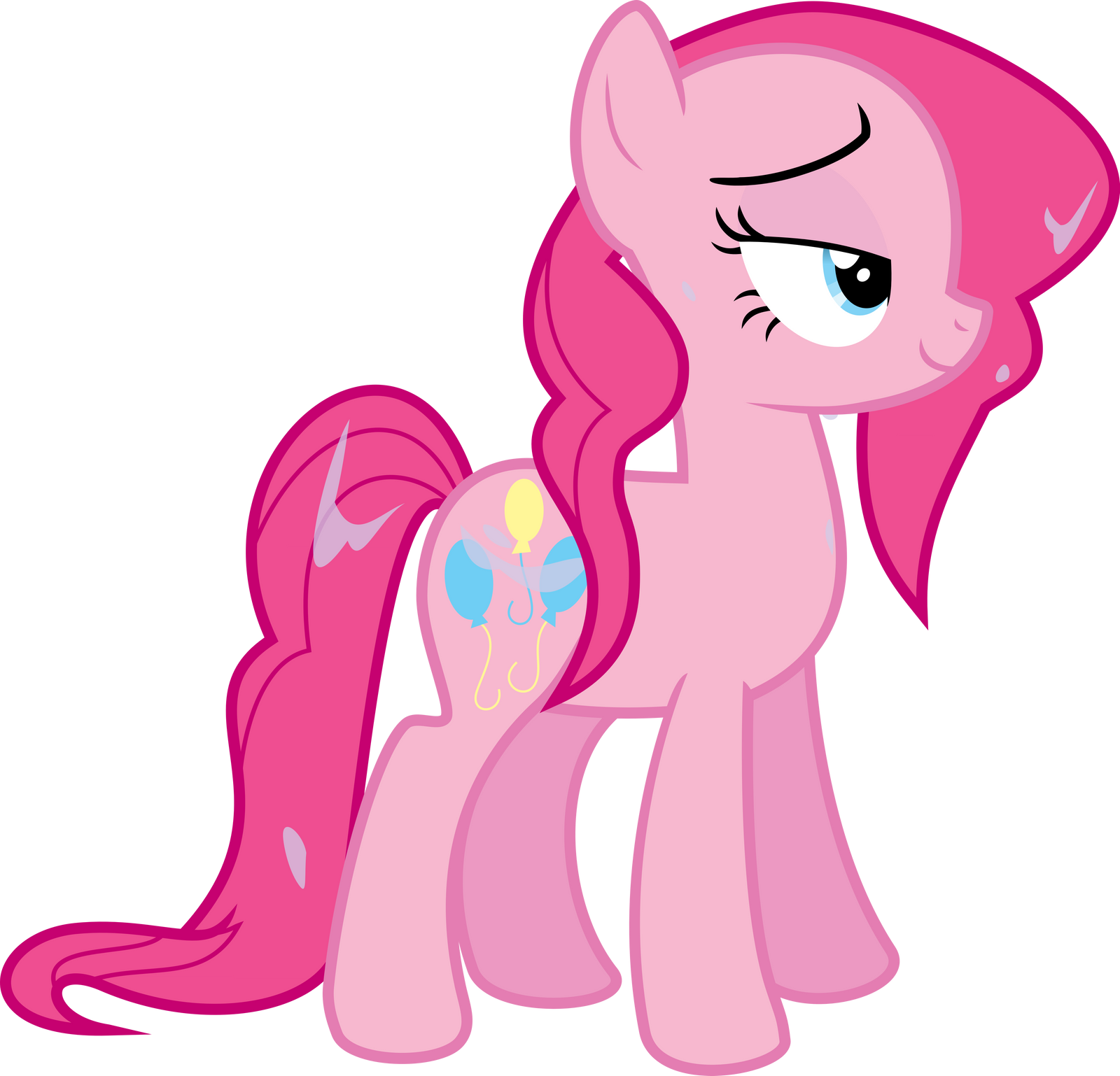 Wet Mane Pinkie Pie by Quasdar