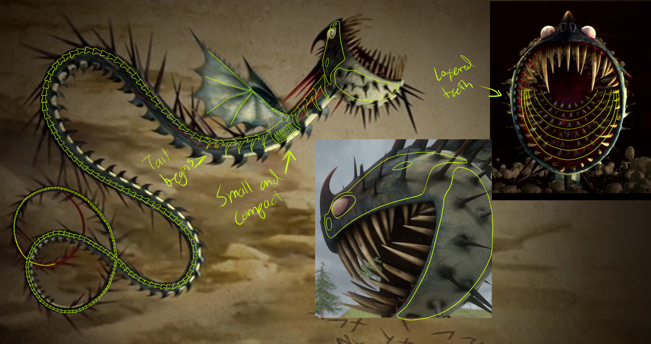 Learn how to draw changewing from how to train your dragon how to - Whispering Death Skeleton By Tiggercat12 Whispering Death Skeleton By Tiggercat12
