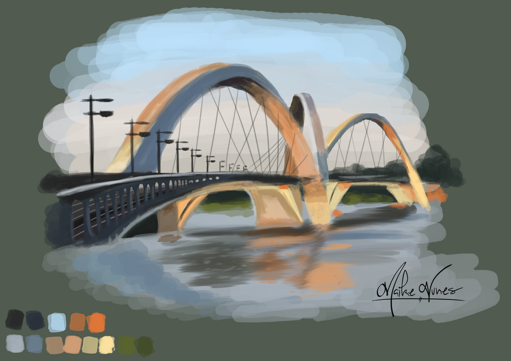 Bridge Juscelino Kubitschek by TheMaikeNunes