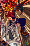 Cloud from KingdomHearts1 by PhillipzAlexander