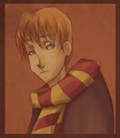 Ron Weasley by eris212