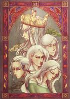 Game of Thrones - House Targaryen by eris212